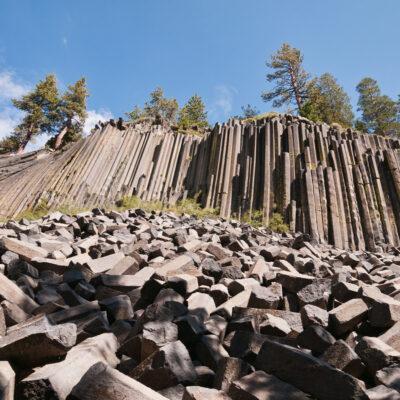 Devils Postpile National Monument, Mammoth Lakes, California