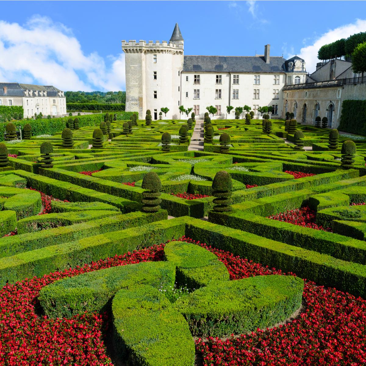 Gardens of the Castle of Villandry
