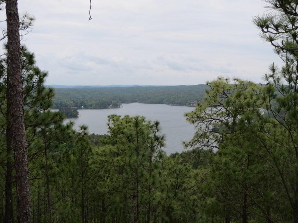 View of Lake Martin from Smith Mountain