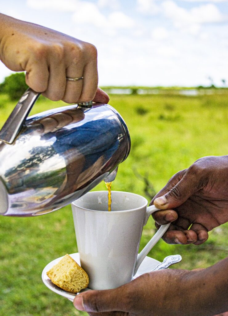 Coffee in Botswana.
