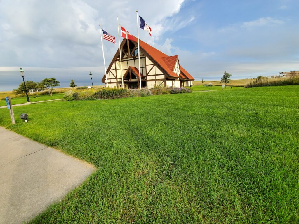 Danish Windmill Museum Elk Horn, Iowa.
