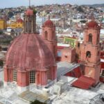 Dome of San Fransisco, Guanajuato, Mexico