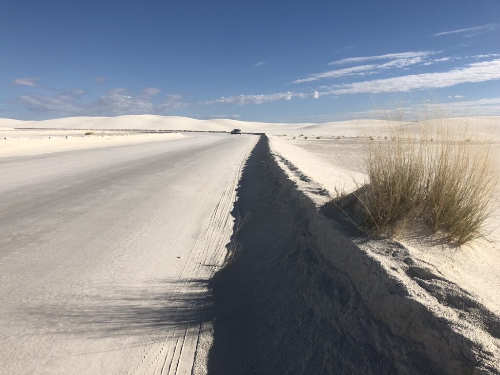 White Sands National Park Dunes Drive, New Mexico.