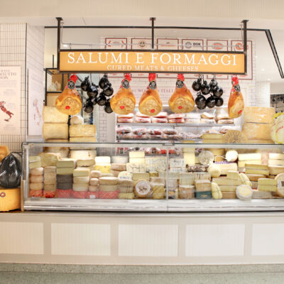 The Salami and Cheese Counter at Eataly