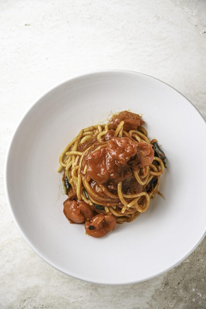 Pasta Pomodoro dish the most popular dish at Eataly