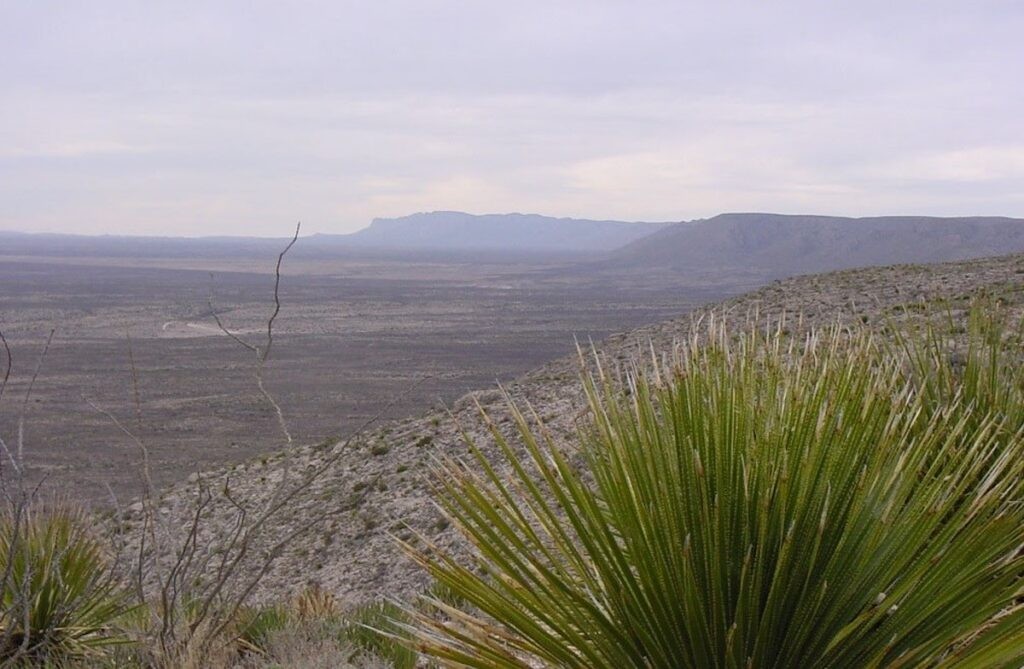 View From The Old Guano Hiking Trail.