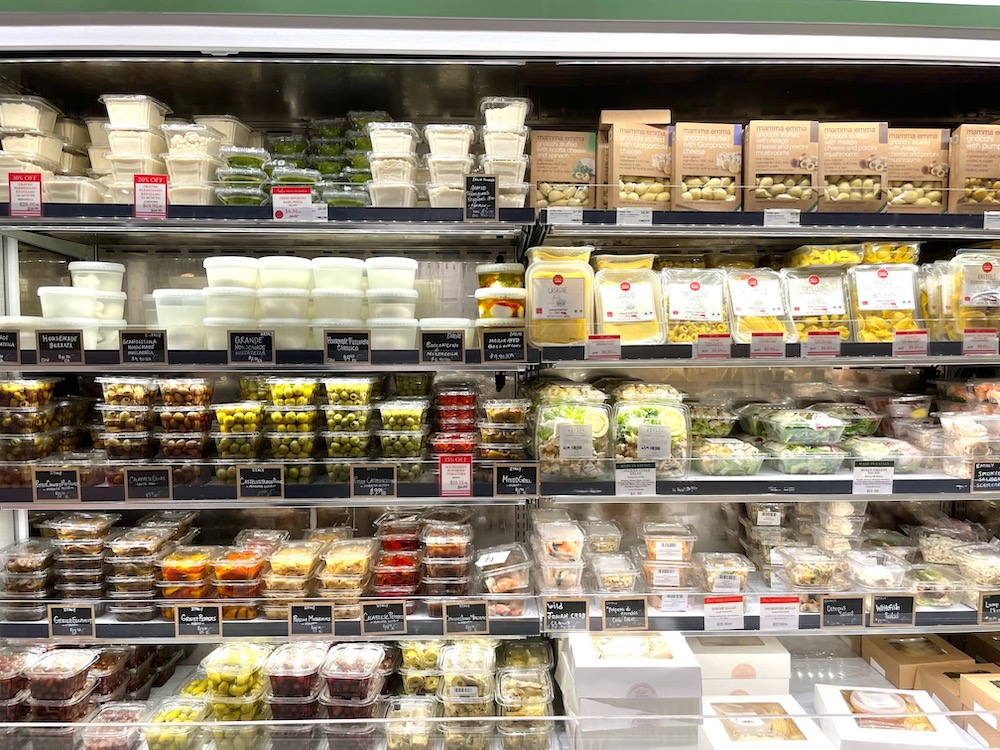 Eataly prepared foods case - Penny Sadler