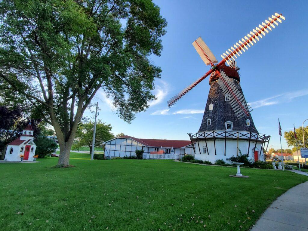 Danish Windmill in Elk Horn, IA.