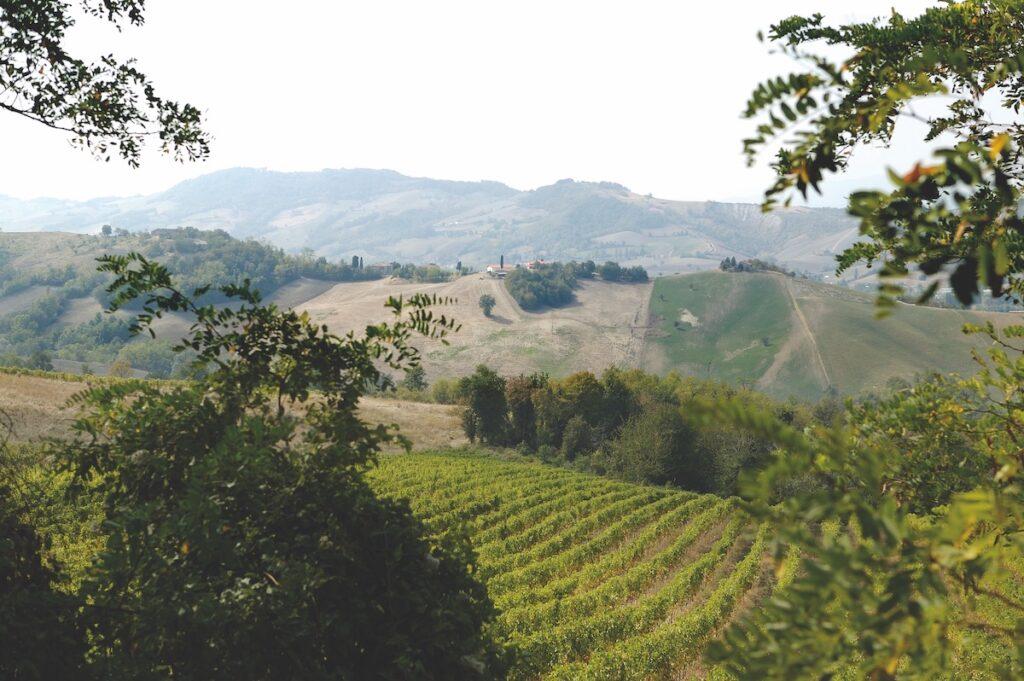 Parma countryside in the region of Emilia Romagna
