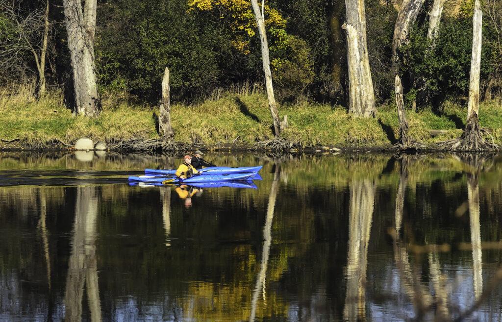 Kayaking on the Fox River