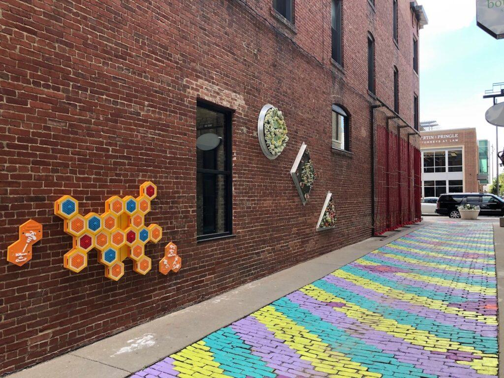 Gallery Alley in Wichita, Kansas.