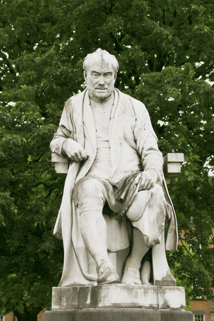 George Salmon Statue.