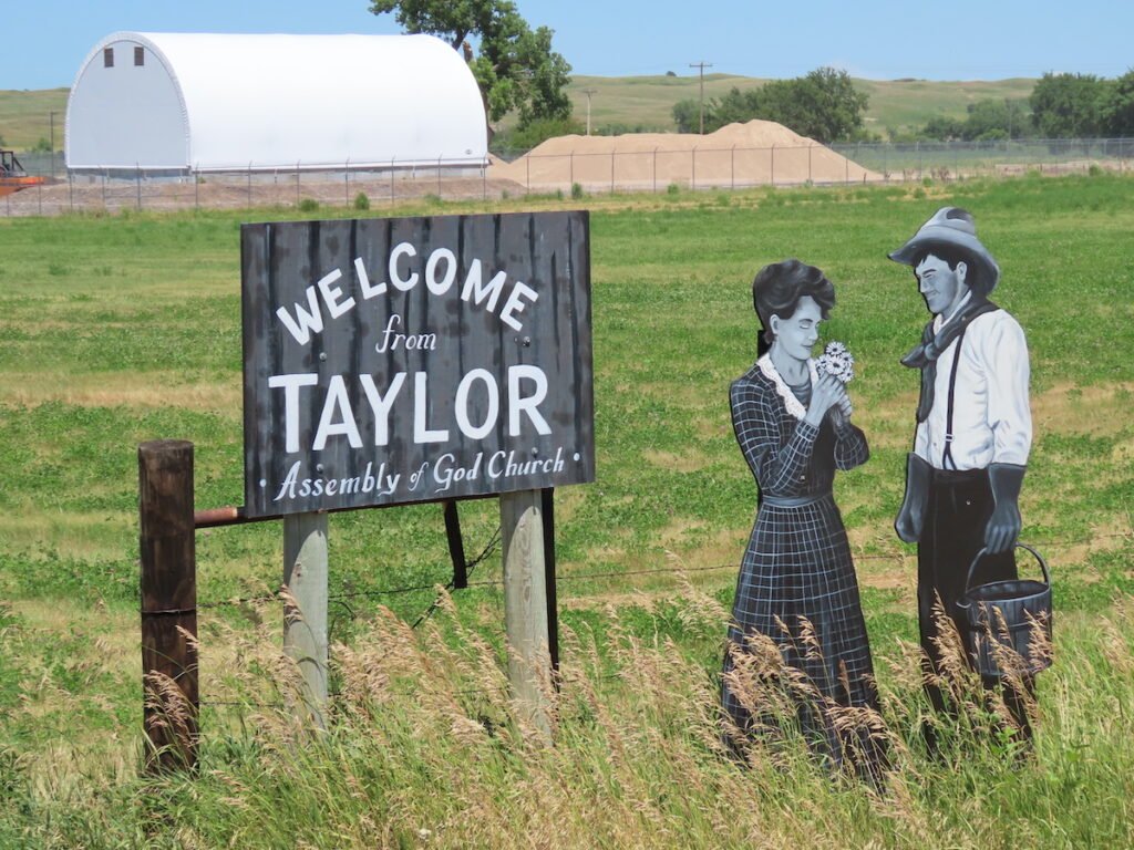 The Taylor Villagers in Taylor, Nebraska.