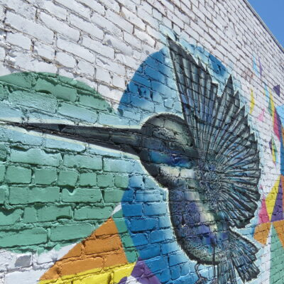 Mural on Douglas Avenue in Wichita, Kansas.