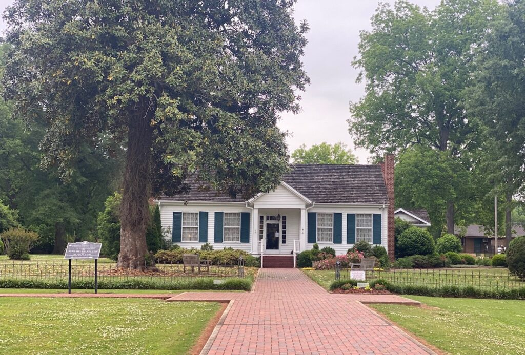 The Helen Keller Birthplace Museum in Tuscumbia is one of many historic sites to explore near Muscle Shoals.