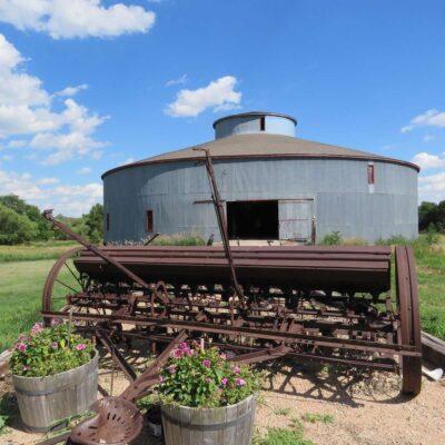 Starke Round Barn near Red Cloud, Nebraska.