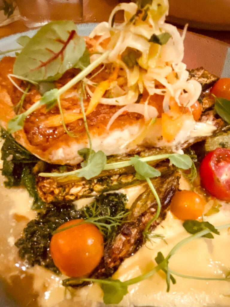 The Hogfish dish at PinPoint in Wilmington, North Carolina.
