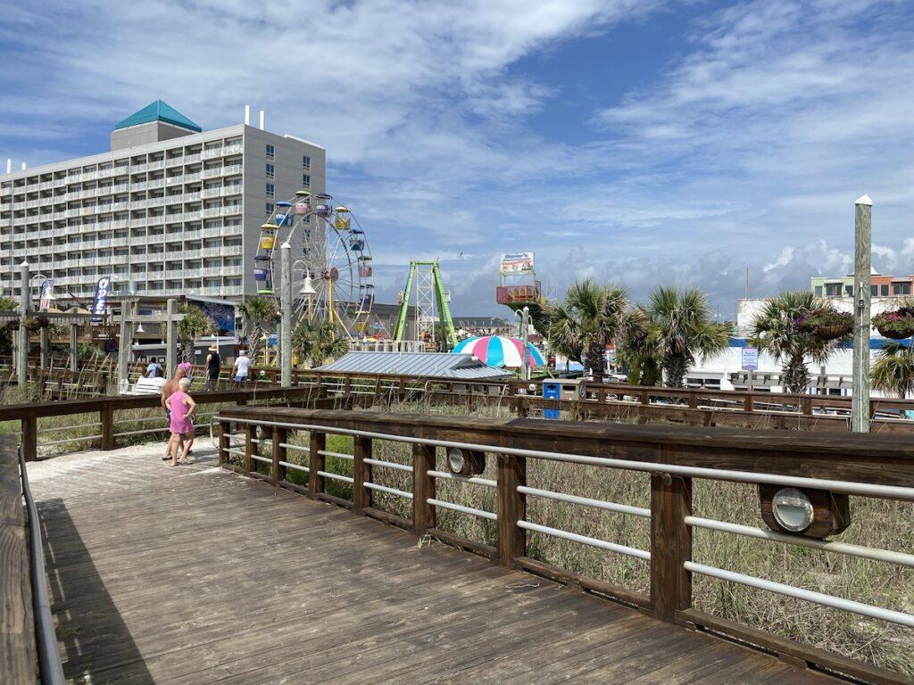 Boardwalk at Carolina Beach