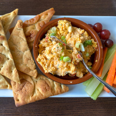 Pimento Cheese is a local favorite on many Wilmington restaurants' menus.