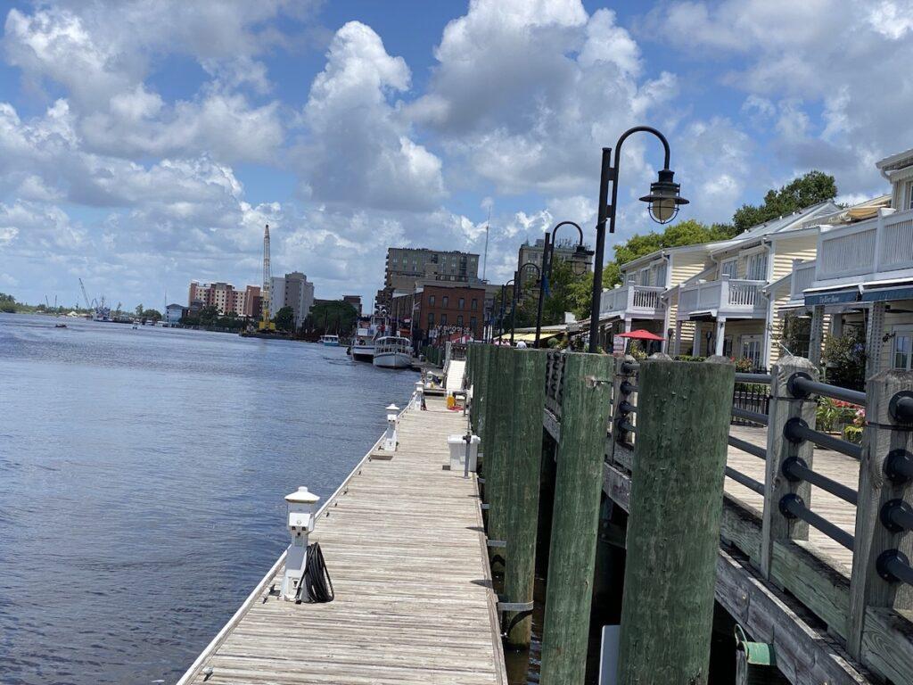 Wilmington Riverwalk.