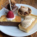 Desserts at Blue Ridge.