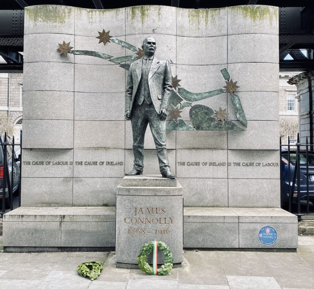 James Connolly Statue.