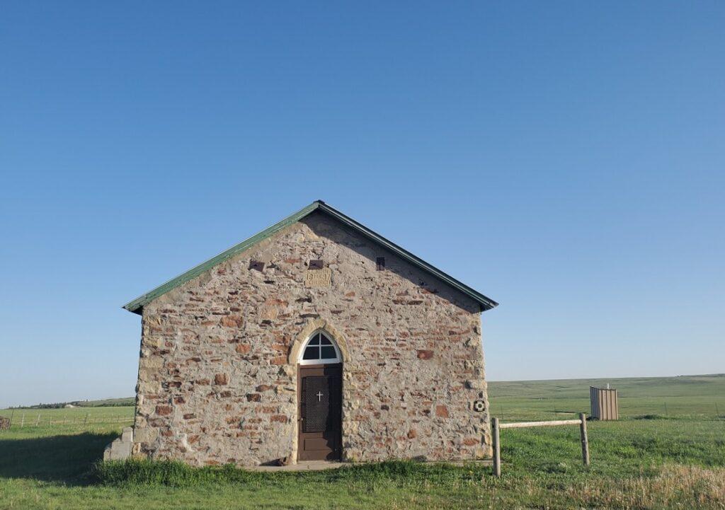 St. John's Methodist Episcopal Church in Raton, New Mexico.