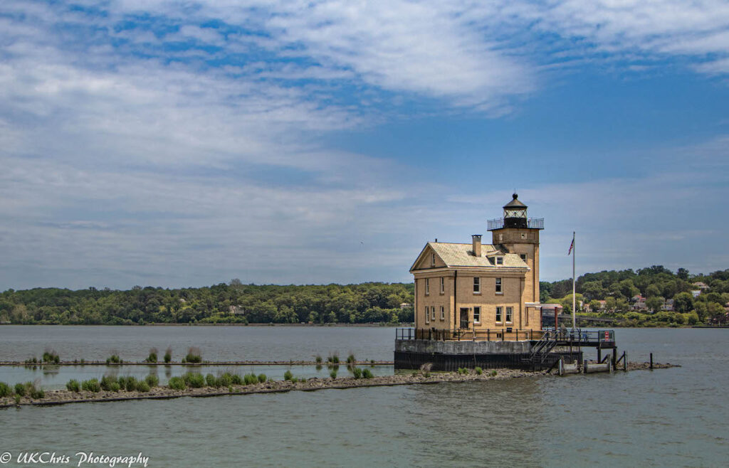 Rondout Lighthouse, New York.