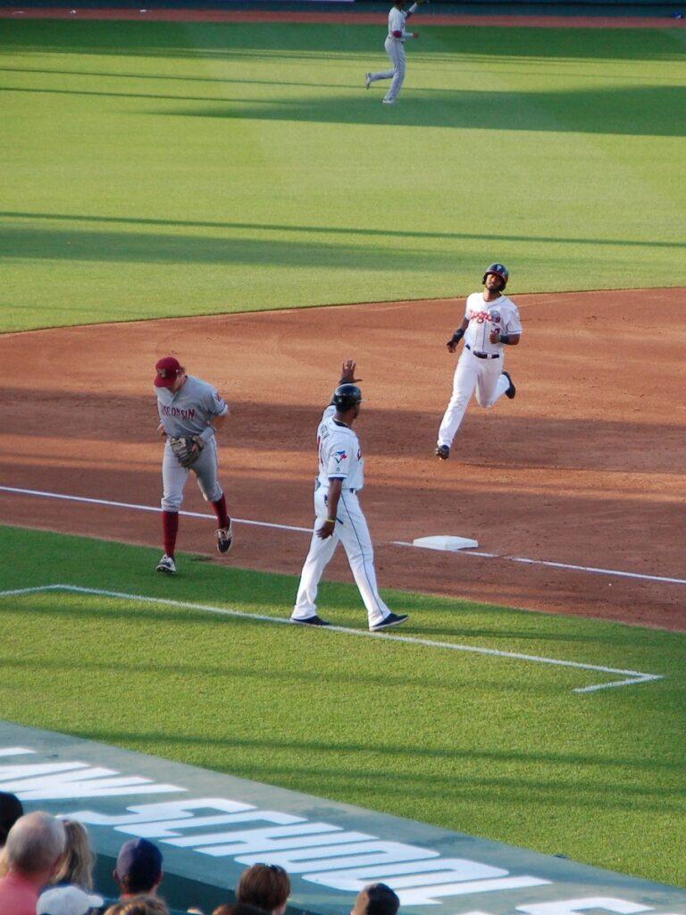 Lansing Lugnuts Baseball in Michigan.