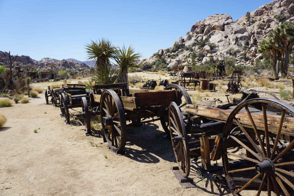 Row of vintage ranch wagons.