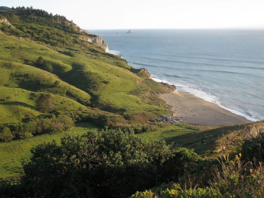 Lost Coast Headlands, Pacific Ocean, California.