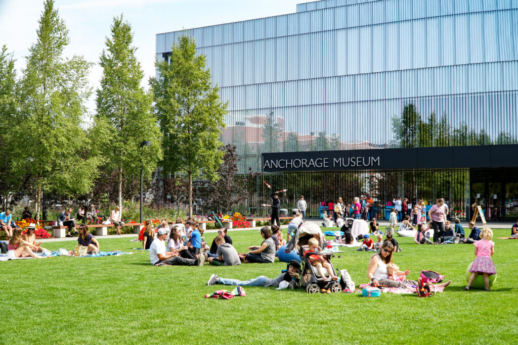 Lunch on the Lawn at Anchorage Museum