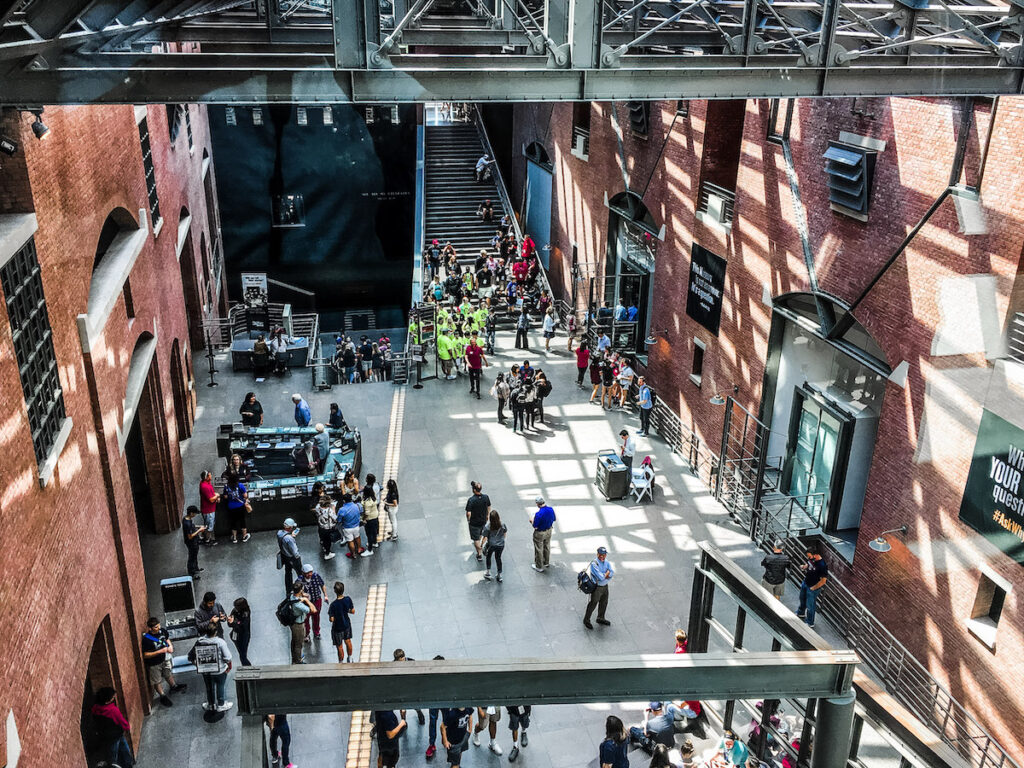 Main Floor US Holocaust Memorial Museum.