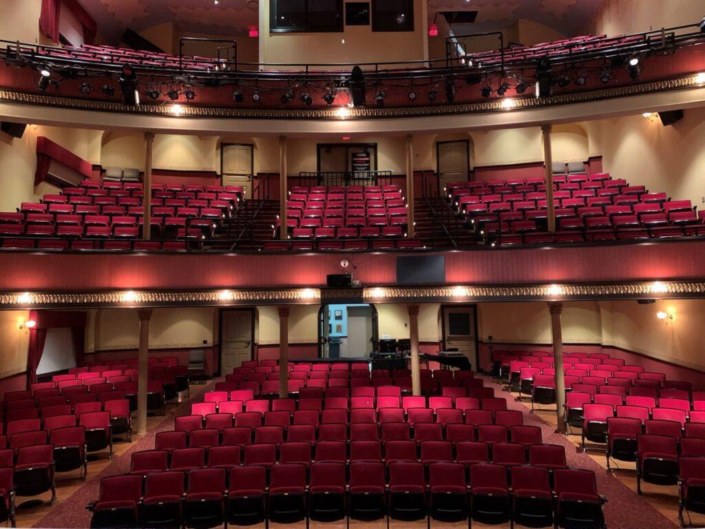McPherson Opera House in Kansas.
