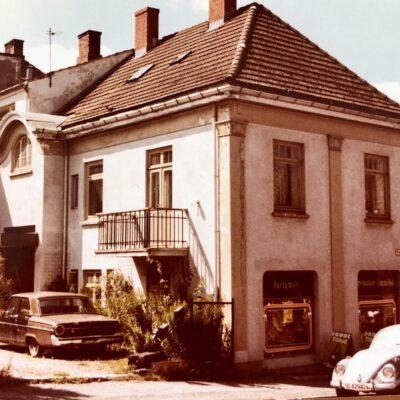 Cindy Barks great aunt Sigrids home in Porsgrunn