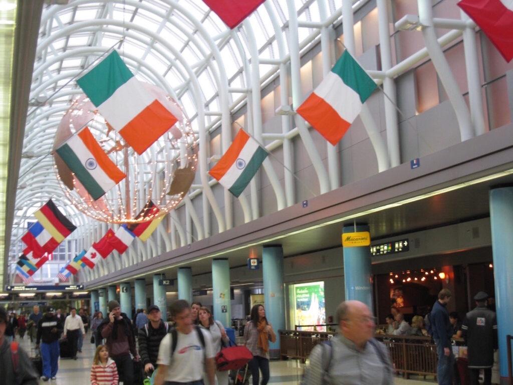 O'Hare Airport Interior.