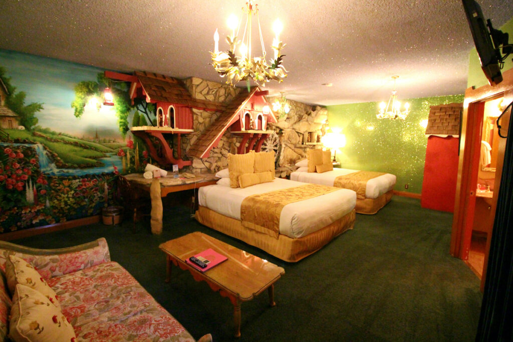 The Old Mill Room at the Madonna Inn.