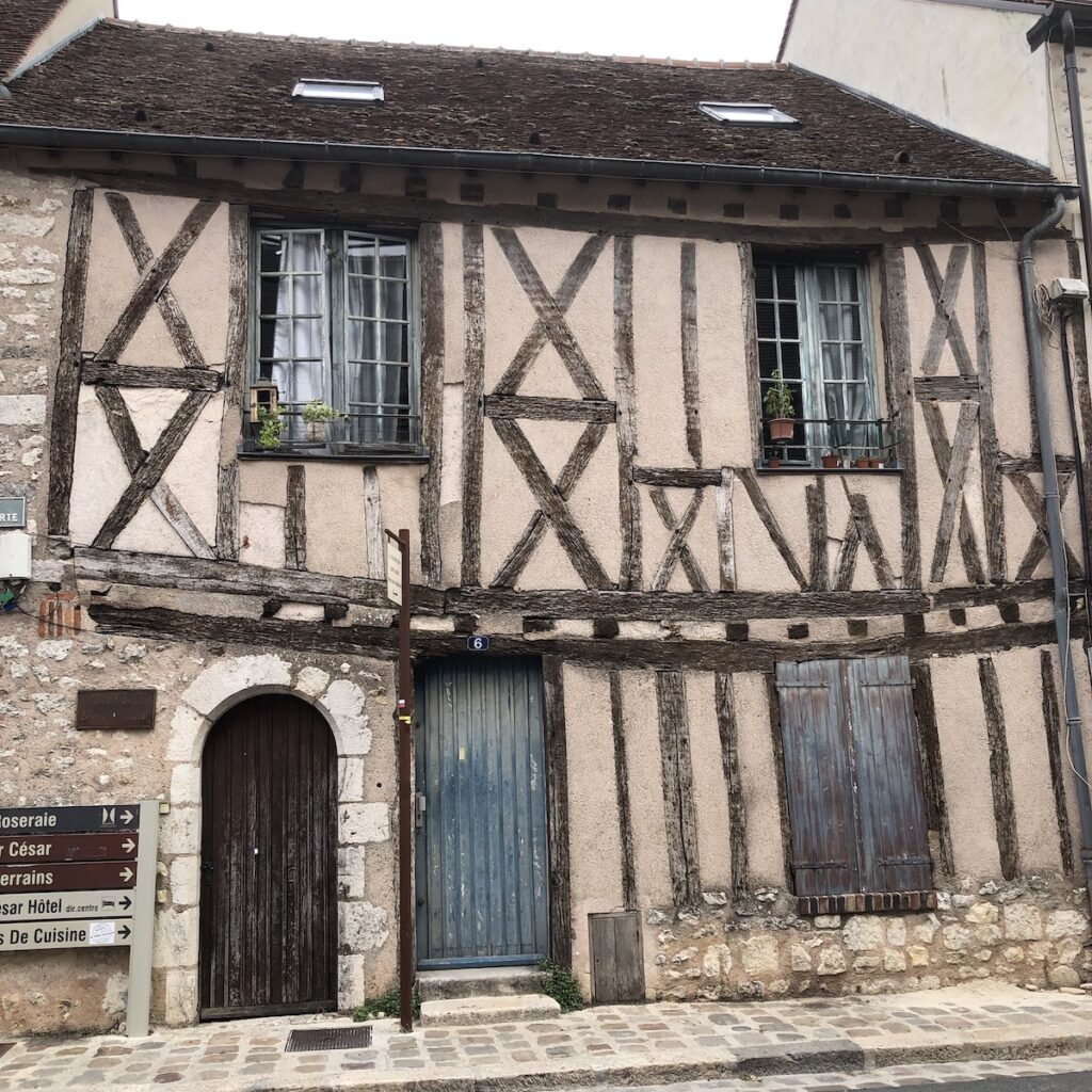 Old half-timbered home, Provins.