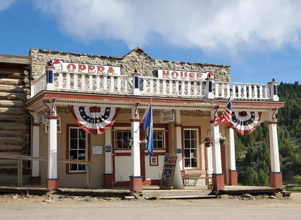 The Opera House in Virginia City.