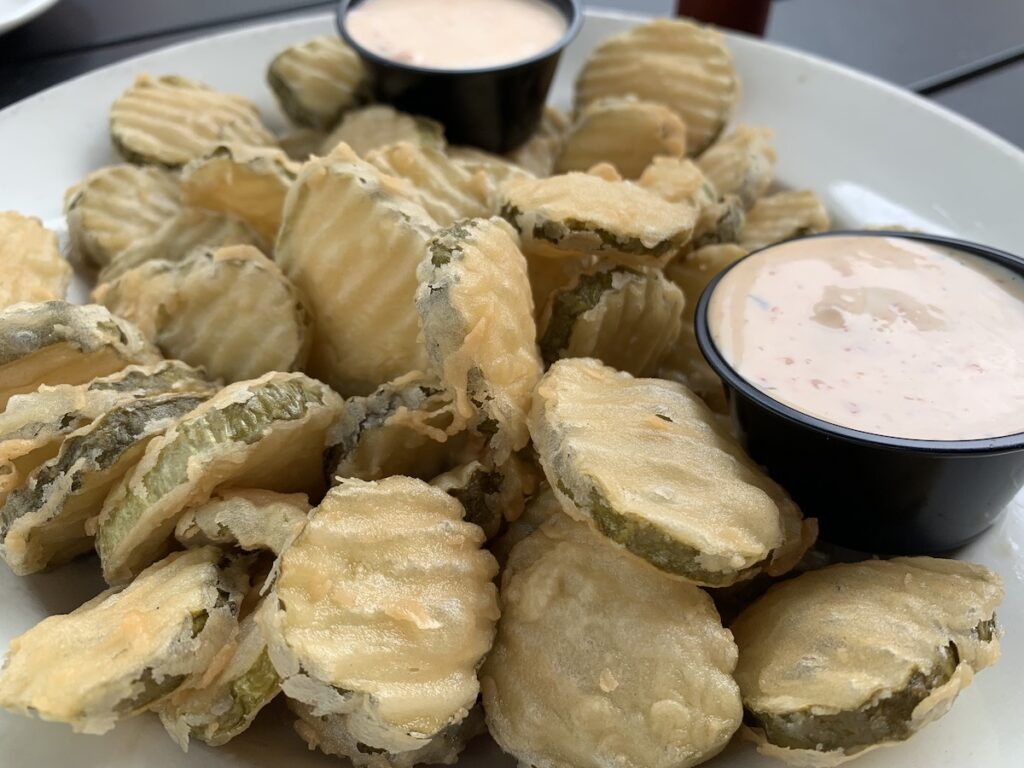 Paddy Murphy's Fried Pickles.