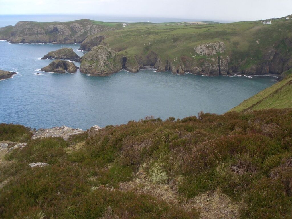 Pembrokeshire Coast in Wales