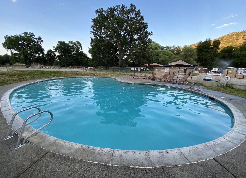 Pool at Pinnacles National Park.