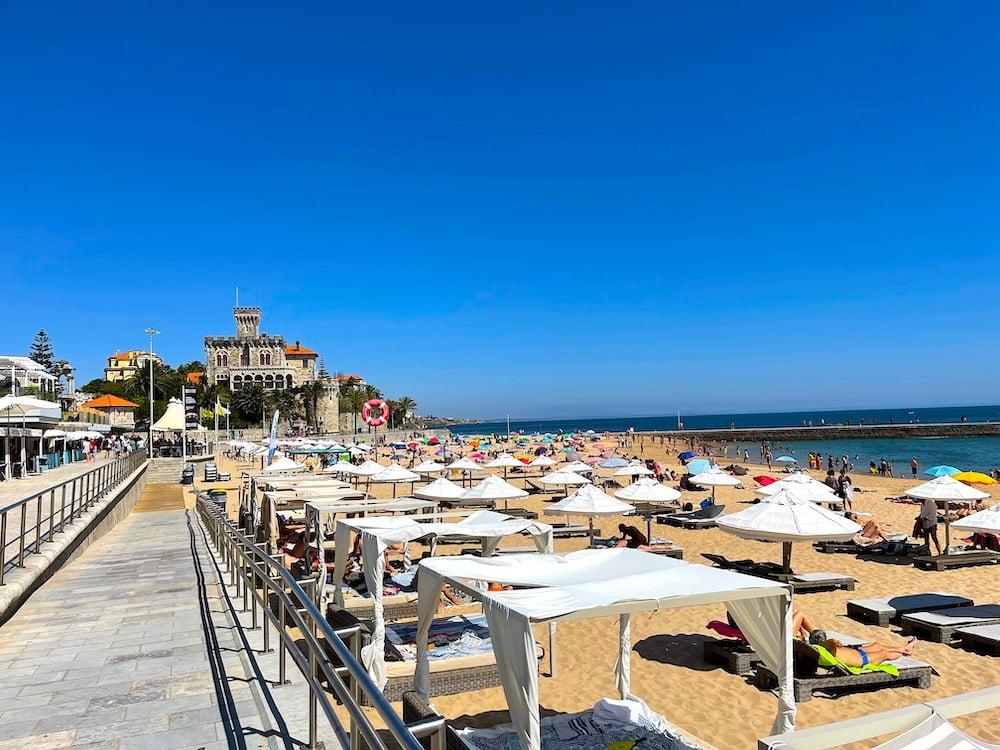 Praia do Tamariz Estoril Portugal