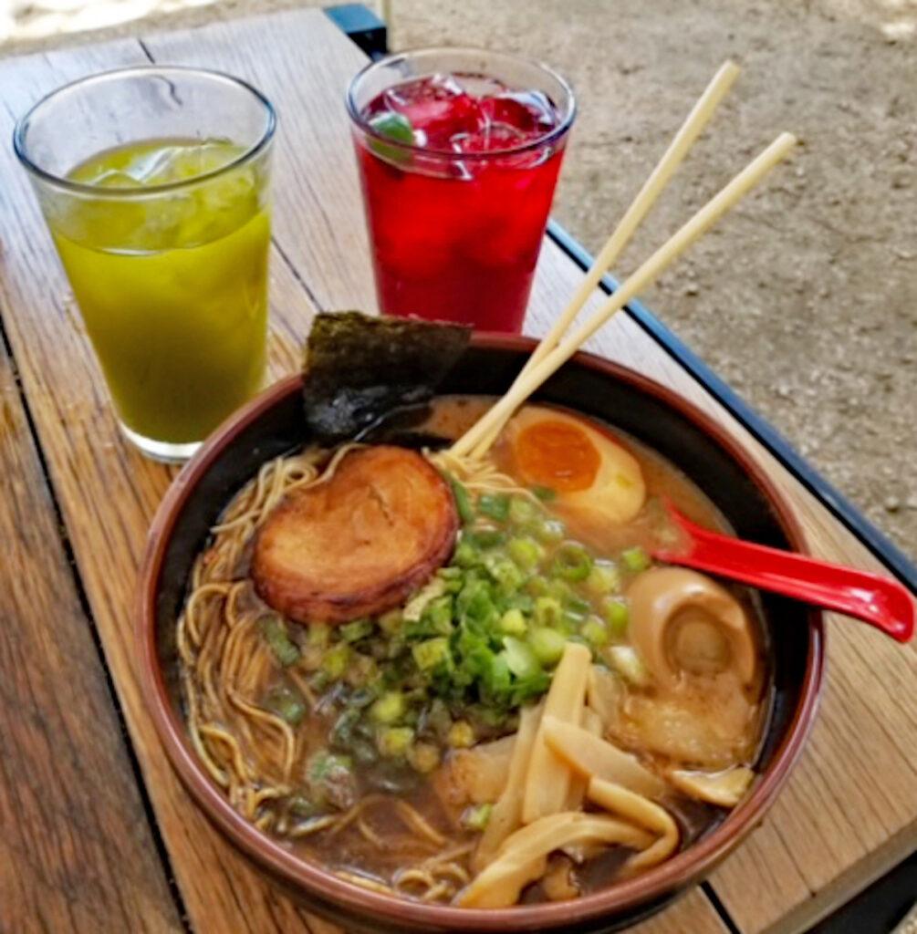 Bowl of delicious ramen at Ramen Tatsuya.