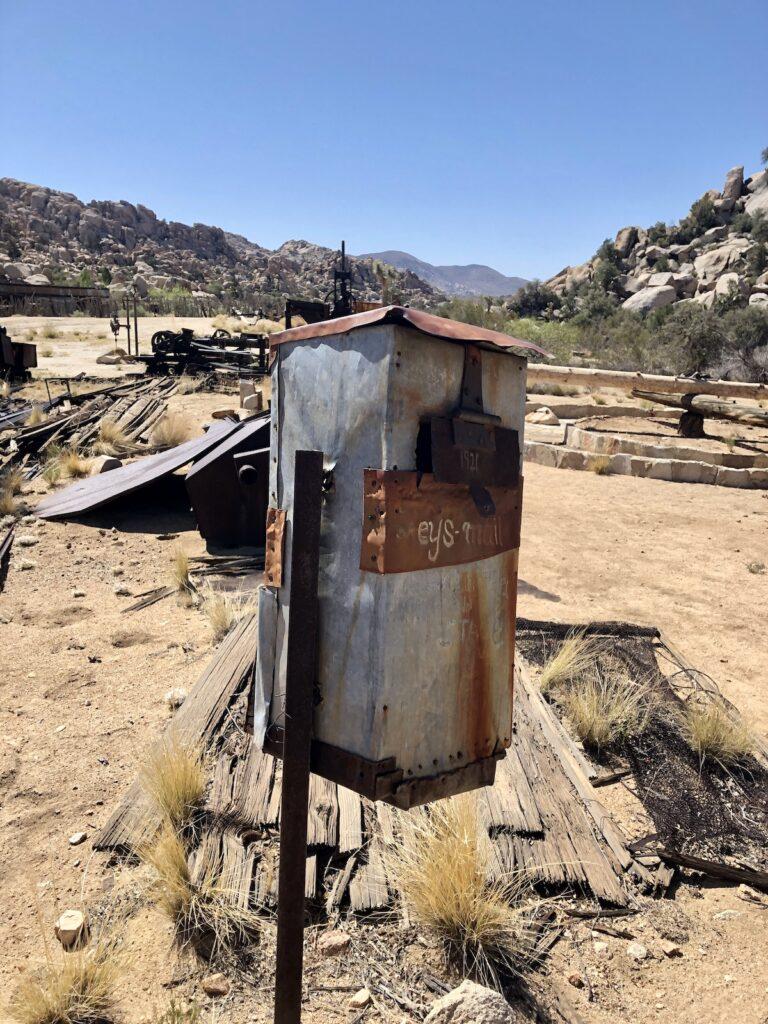 Ranch mailbox.