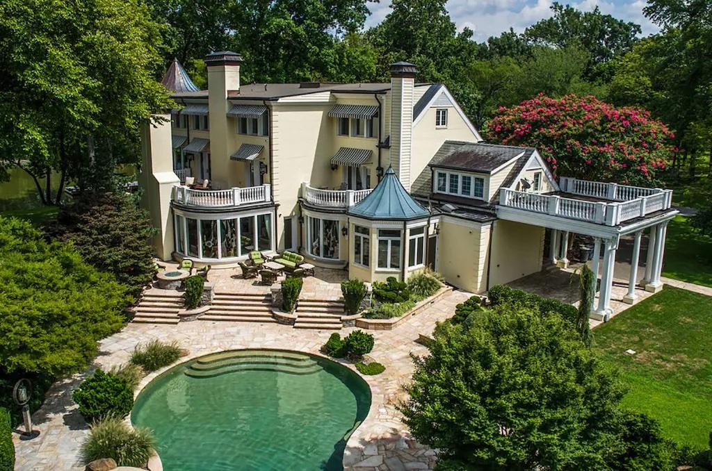 Reba McIntyre Vrbo Mansion Rental In Tennessee
