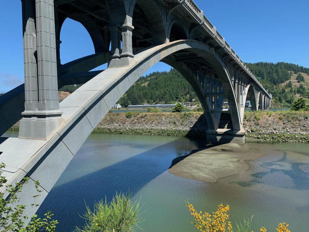 Rogue River Bridge in Oregon