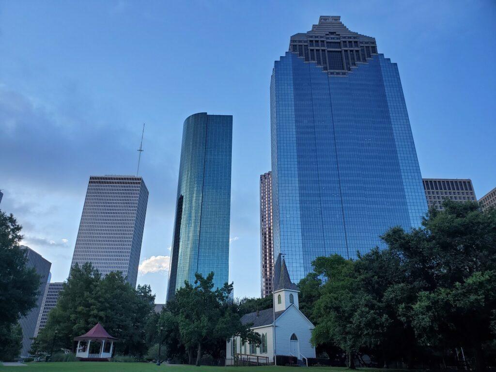 Sam Houston Park.