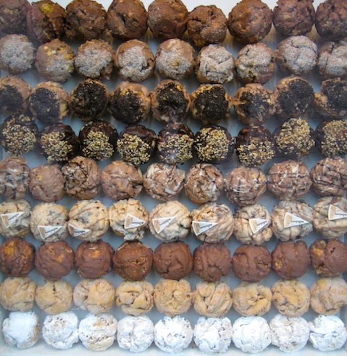 Schneeball in Heidelberg, Germany, one of the tastiest pastries in Europe.