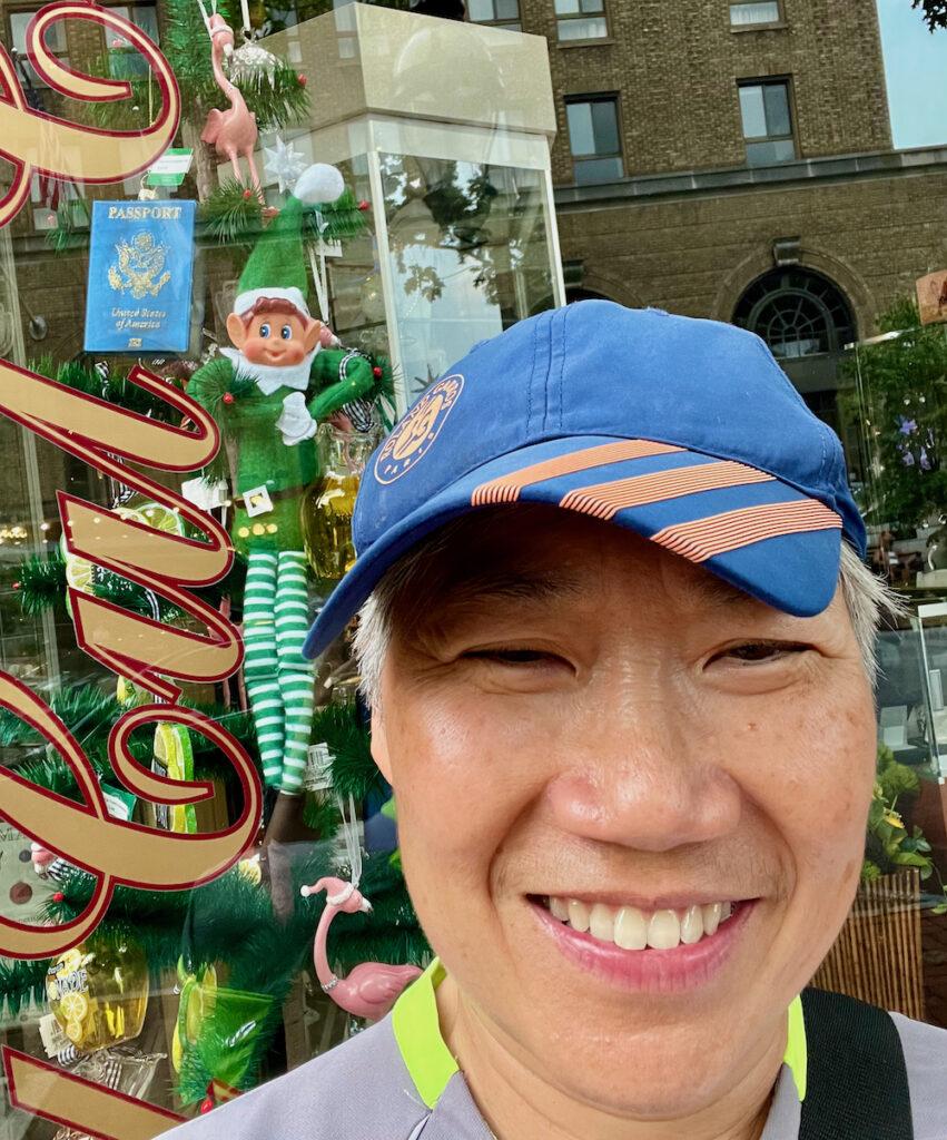 Regina Ang Selfie with an Elfie